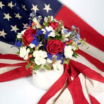 Celebrate the 4th with Flowers