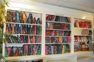 Vera Bradley on display in Nanz & Kraft