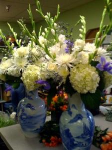 "Vase Arrangements for ""Secretariat"""